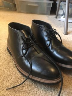 Black Dress shoes (only used once!)