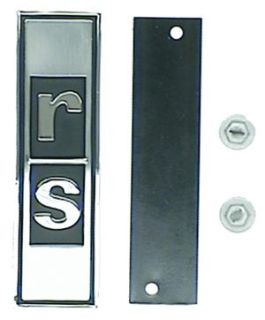 Purchase 67 68 1967 1968 Camaro RS Rally Sport GRILL EMBLEM motorcycle in Sullivan, Illinois, US, for US $22.50