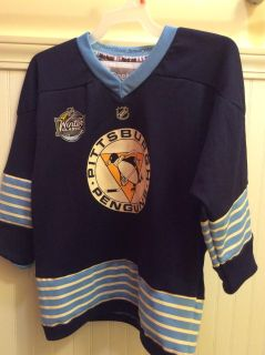 Reebok Youth Winter Classic Penguins Jersey