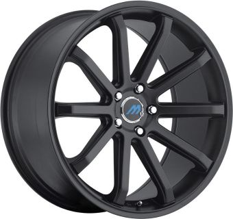 Sell 2Crave Mach M10 Satin Black staggered 20x8.5/9.5 +35 +40offset 5x114.3 motorcycle in Los Angeles, California, US, for US $880.00