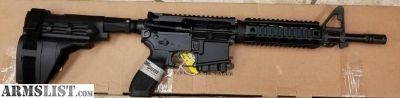 For Sale: Sig Sauer AR-15 Pistol 5.56mm This item is new with 1 mag Inv.# G-I-3579
