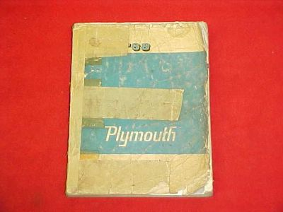 Purchase 1968 PLYMOUTH BARRACUDA CUDA GTX BELVEDERE SERVICE SHOP MANUAL 68 WIRING DIAGRAM motorcycle in Leo, Indiana, US, for US $69.99