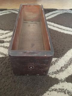 Vintage drawer from sewing machine . Miss hardware 14x41/2x4 h