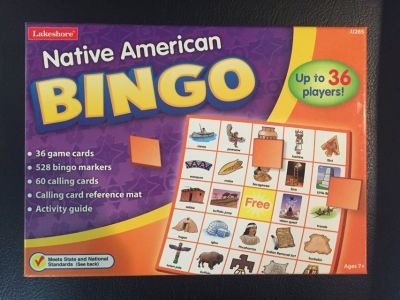 Native American Bingo