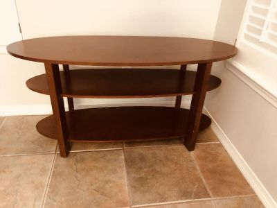 TV stand (not particle board) -make offers through 10 pm 8/2 and will CONSIDER selling to highest offer but MUST pick up 8/3 by 1pm