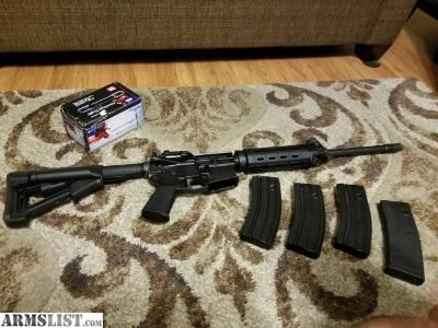 For Sale: Palmetto State Gen 2 Magpul AR15 w/3 30 round mags and a sling