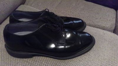 Bates High Gloss Uniform Shoes