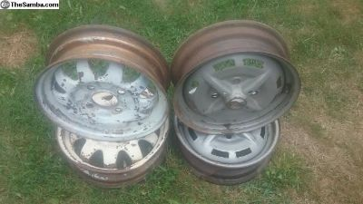 O.G Used German VW Steel Wheels