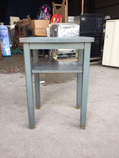 Table with a shelf
