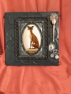 Steampunk dog picture