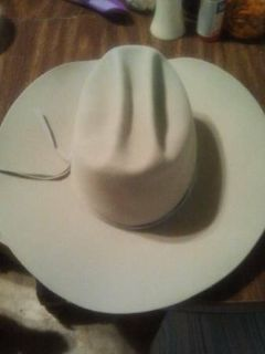 10X SILVER NEW CUSTOM MADE COWBOY HAT