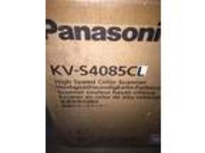 Panasonic Kv-S4085 Color Duplex Scanner New