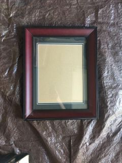Mahogany Wood picture frame