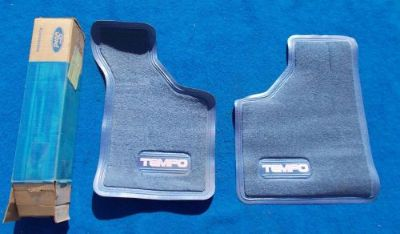 Find Ford TEMPO NOS FOMOCO Front Floor Mat Original FOMOCO E43Z 6113086 C BLUE motorcycle in Great Bend, Kansas, United States, for US $24.99