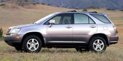 2001 Lexus RX 300 Base (White)