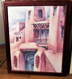 beautiful wall hanging signed and in excellent condition