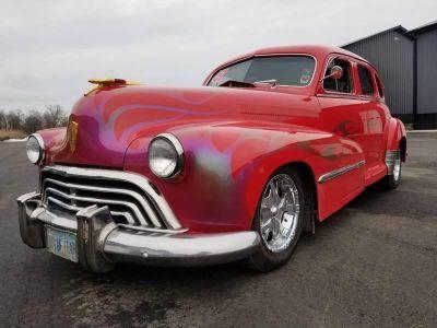 """1947 Oldsmobile 66 HotRod-540"""" Sputs Racing Engine-671"""