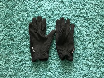 Mashfa Ladies Women Horse Riding Gloves Cotton Dublin Track Fabric Shires Gloves Leather Equestrian- Women s Size Small