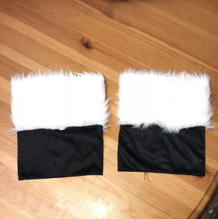 Santa (furry) Boot Toppers