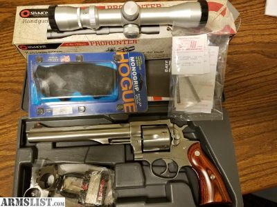 For Sale: Ruger Redhawk Hunter 44 Mag