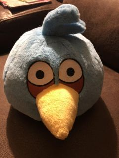 Angry birds stuffed animal that makes noise