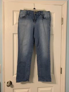 Democracy jeans from stein mart size 12