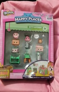 NEW SHOPKINS Happy Places Kitty Kitchen