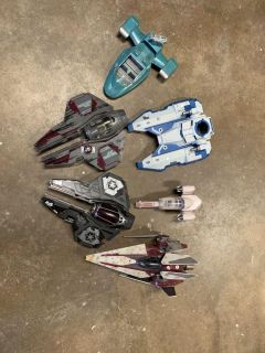 Star Wars Action Figure Ships