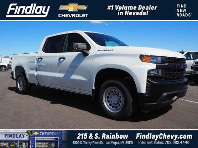 2019 Chevrolet Silverado 1500 2WD CREW CAB 157 (Summit White)