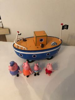 Peppa pig talking boat