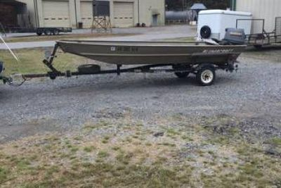 1996 Alumacraft Duck/Fishing boat