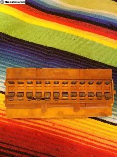 Early 1970 Bus 1/2 year bakelite fusebox