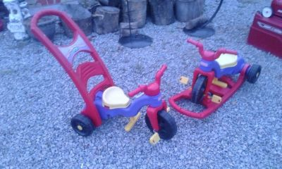 Toddlers Fisher-Price Rock, Roll 'n Ride Trike
