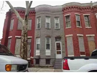 3 Bed 1 Bath Foreclosure Property in Baltimore, MD 21217 - Woodbrook Ave