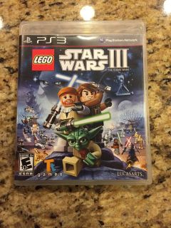 Lego Star Wars III: The Clone Wars - PS3 Game