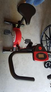 Soozier Stationary Fitness Cycle