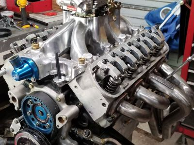 Small block ford 8.5 deck bennet racing sbf