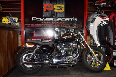 2013 Harley-Davidson Sportster 1200 Custom 110th Anniversary Edition Sport Motorcycles Lake Park, FL