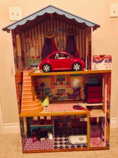 Large Barbie/Doll House $20