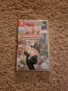 Monopoly Nintendo Switch Game - NEW