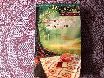 Love Inspired Large Print : Missy Tippens - His Forever Love. Paperback