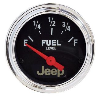 "Purchase Auto Meter 880243 Jeep Licensed 2 1/16"" Fuel Level Gauge motorcycle in Greenville, Wisconsin, US, for US $69.96"