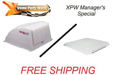 Buy Ventline 14 x 14 Vent Lid & Maxxair Vent Cover - Trailer/RV/Camper/Fifth Wheel motorcycle in Atoka, Tennessee, US, for US $57.95