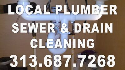 SEWER AND DRAIN CLEANING --Emergency or 4 appointment (Sewer & Drain Cleaning Plumber Plumbing)
