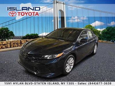 2018 Toyota Camry LE AutoLIFETIME WARRANTY (Blue Crush Metallic)