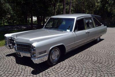 1966 Cadillac Crown Sovereign Funeral Coach Landau Hearse