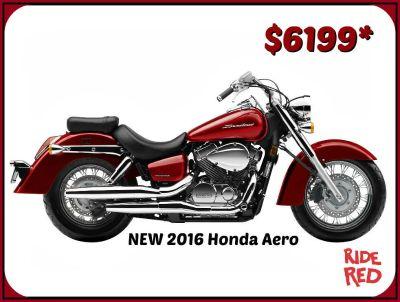 2016 Honda Shadow Aero Cruiser Motorcycles Erie, PA