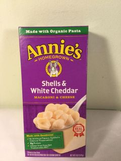 Annie s shells and white cheddar macaroni and cheese, sale