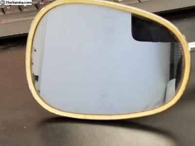 Lowlight to 65 Swan Neck Mirror Xlnt Condition