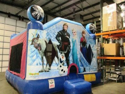 Ninja Jump Frozen Commercial Inflatable Jumper RTR#7063772-03